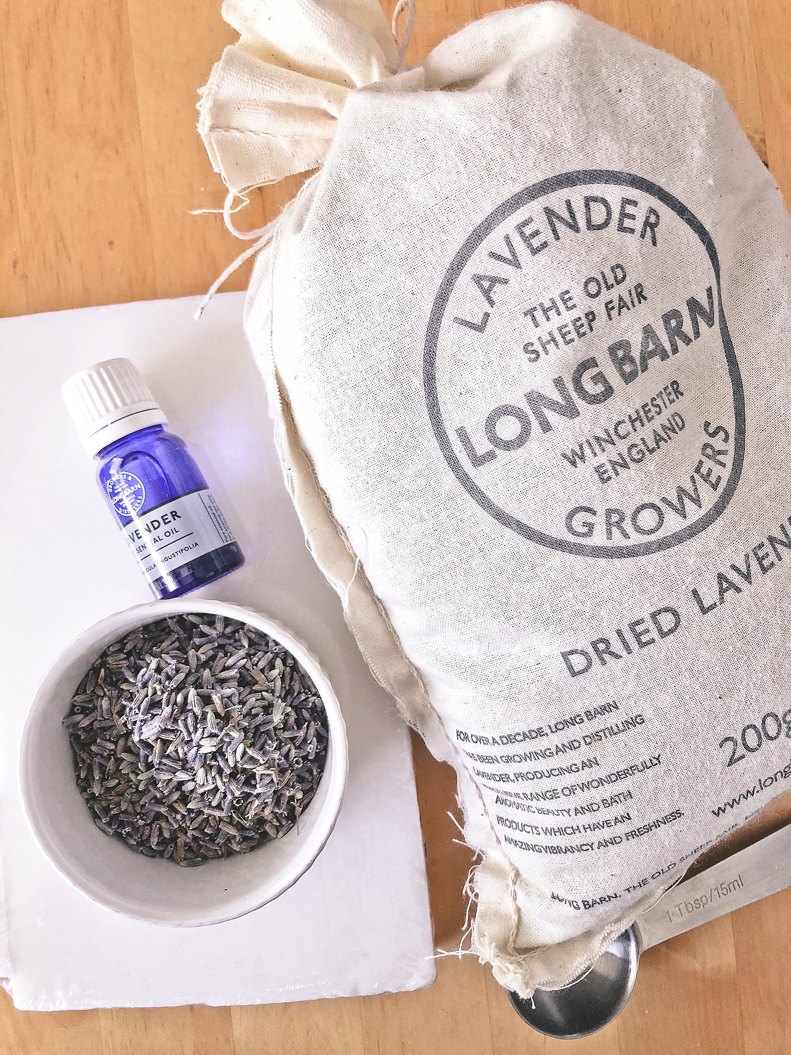 Easy make your own soap with English lavender from Long Barn UK