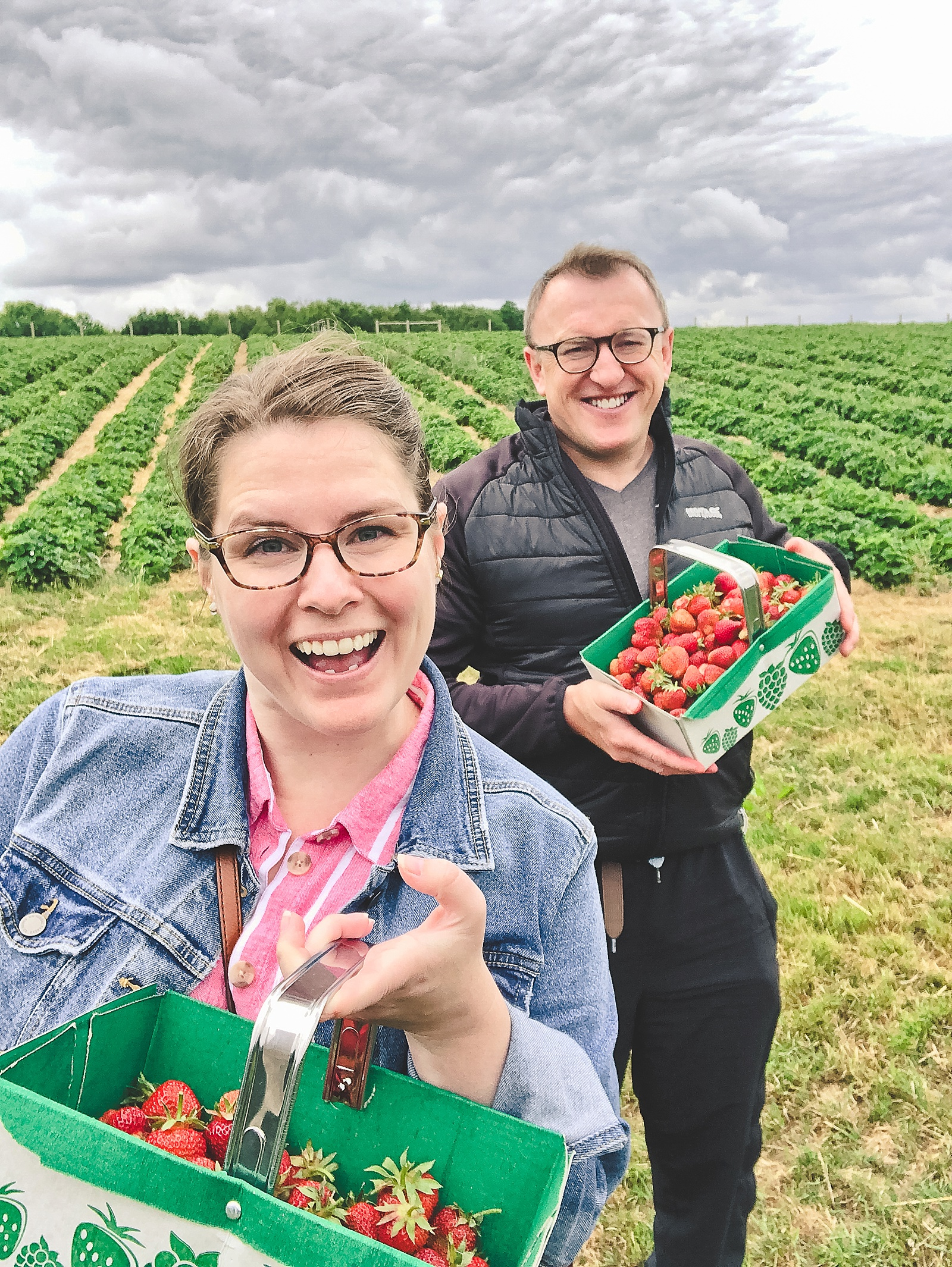 New House Farm Shop Strawberry Picking in Southern England